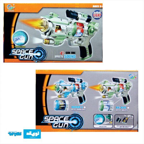 اسباب بازی تفنگ فضایی موزیکال