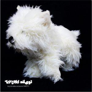 عروسک حیوانات طبیعی سگ تریر terrier