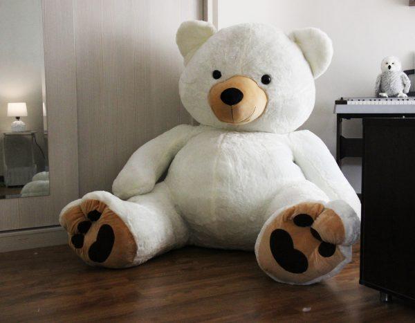 عروسک خرس فطبی بزرگ