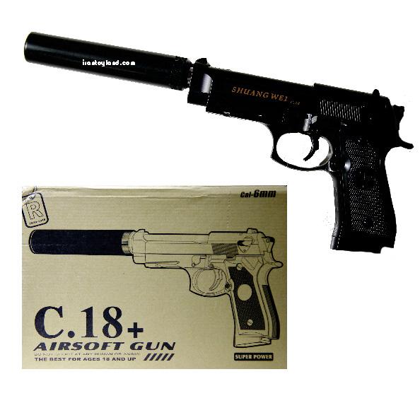 ماکت اسلحه کمری فلزی