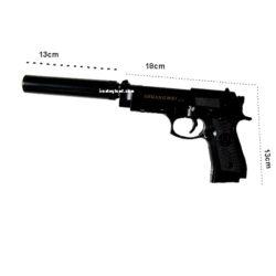 ماکت اسلحه کمری فلزی مدل C18