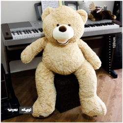 عروسک خرس بزرگ گریزلی دهان باز 2 متری