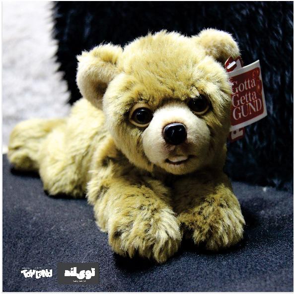عروسک حیوانات طبیعی توله خرس تبتی