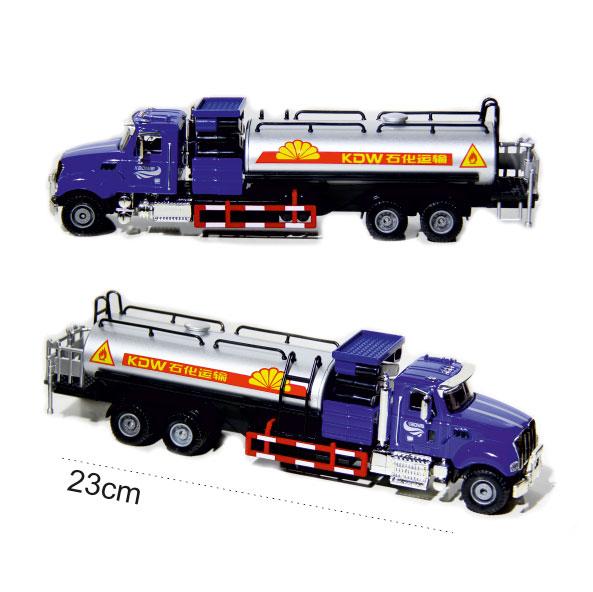 ماکت ماشین کامیون تانکر مواد سوحتی