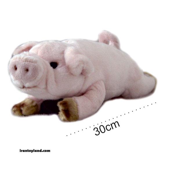 عروسک حیوانات طبیعی خوک