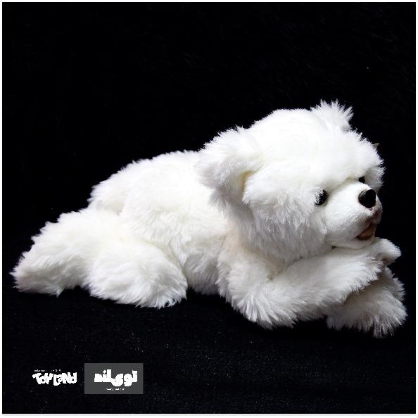 عروسک خیوانات طبیعی توله خرس قطبی