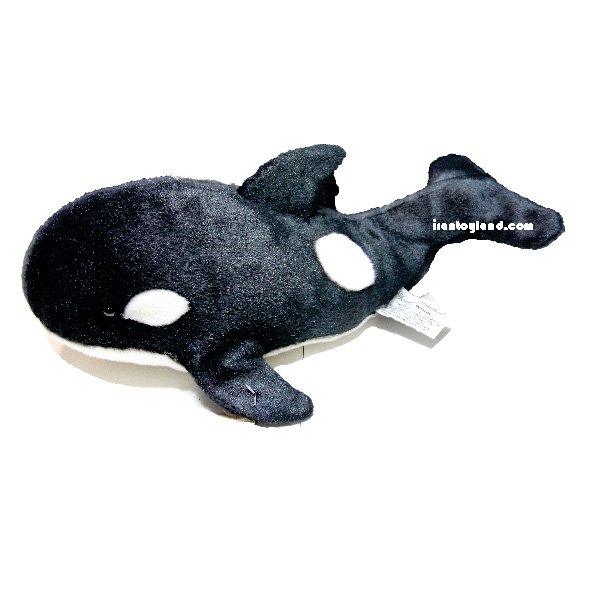 عروسک حیوانات طبیعی نهنگ قاتل