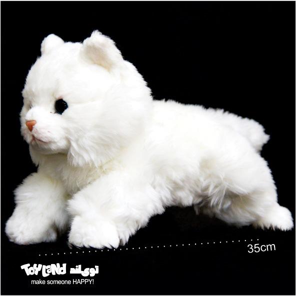 عروسک گربه پرشین سفید
