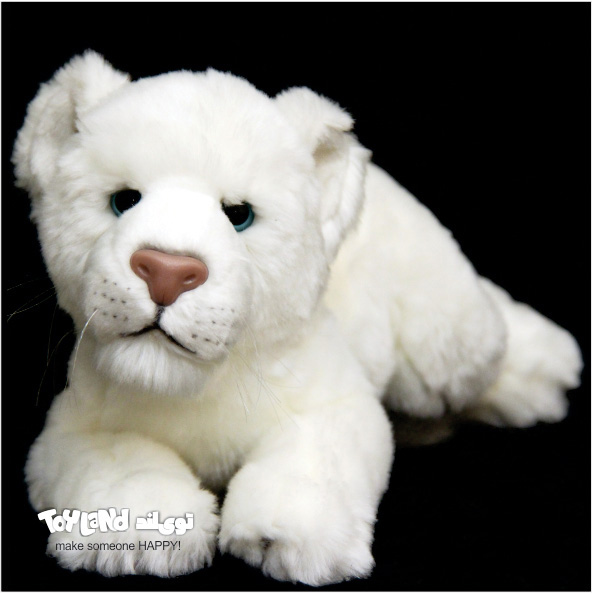 عروسک شیر سفید