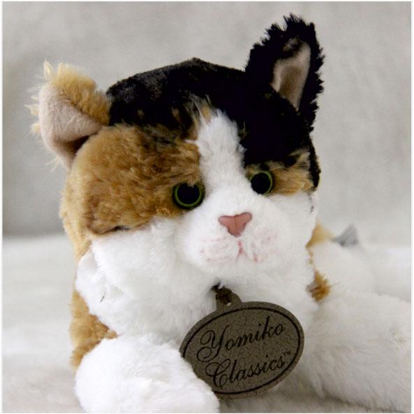 عروسک گربه کالیکو کت ابلق