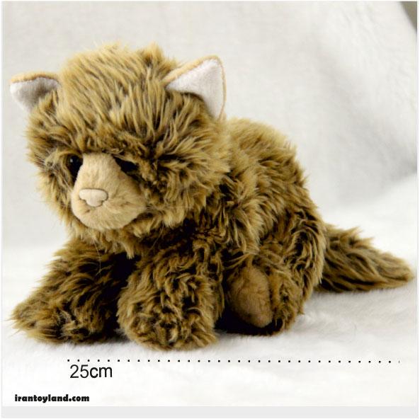 عروسک گربه پشمالو