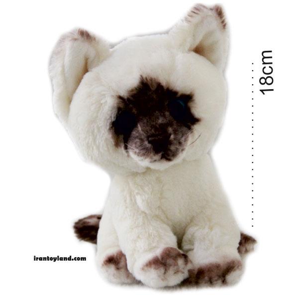 عروسک گربه هیمالیایی نشسته