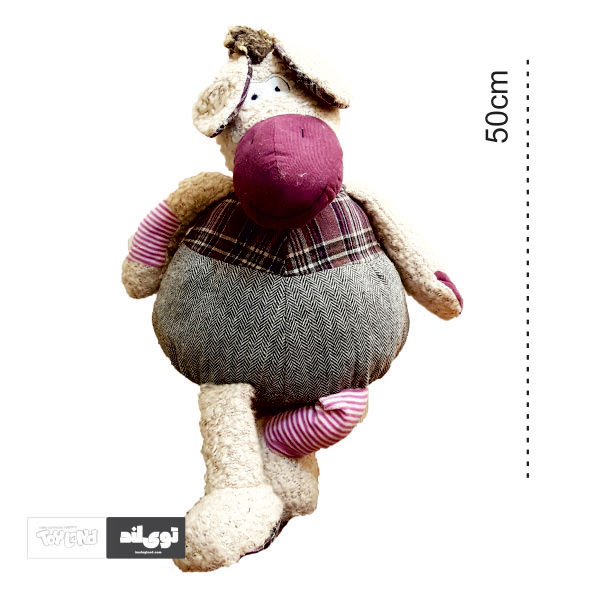 عروسک پولیشی و پارچه ای الاغ شلوار کبریتی