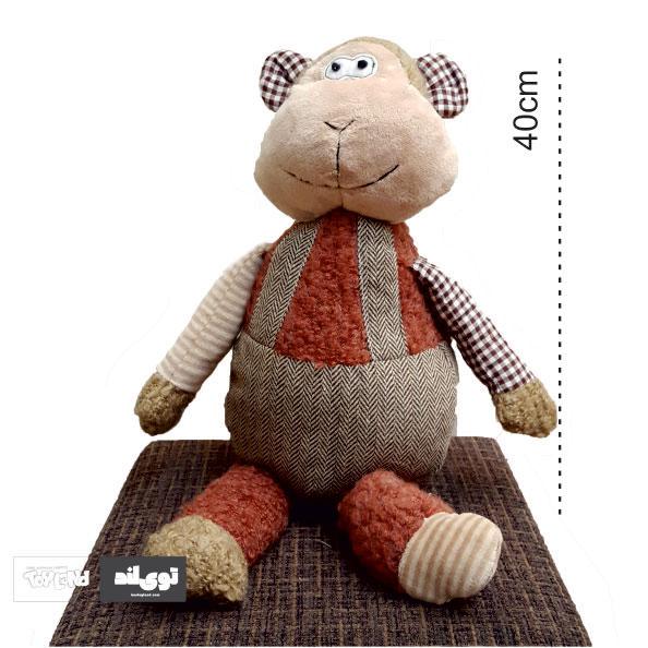 عروسک پولیشی و پارچه ای میمون کبریتی