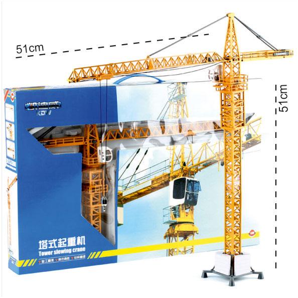 ماکت ماشین جرثقیل برج تاور کرین toer crane