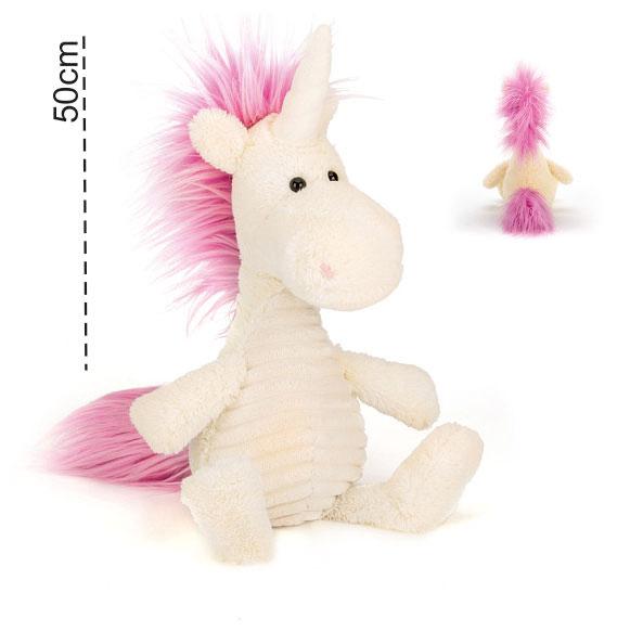 عروسک پولیشی اسب تک شاخ یونیکورن
