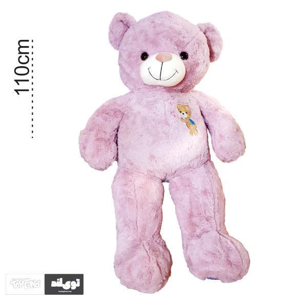 عروسک خرس بزرگ صورتی