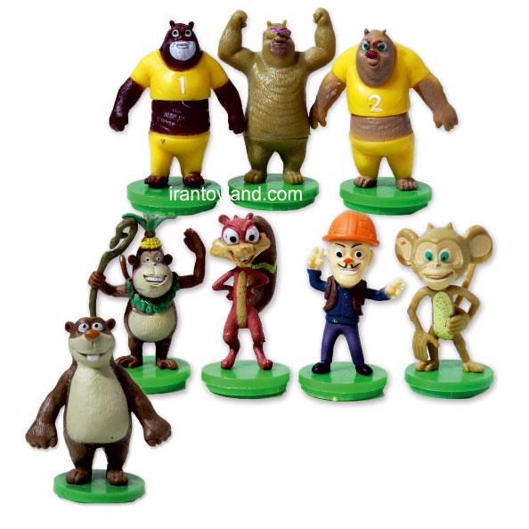 فیگور شخصیت کارتونی خرس های محافظ جنگل