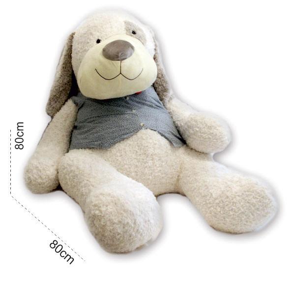 عروسک سگ بزرگ لباسدار ۱۶۰ سانتی