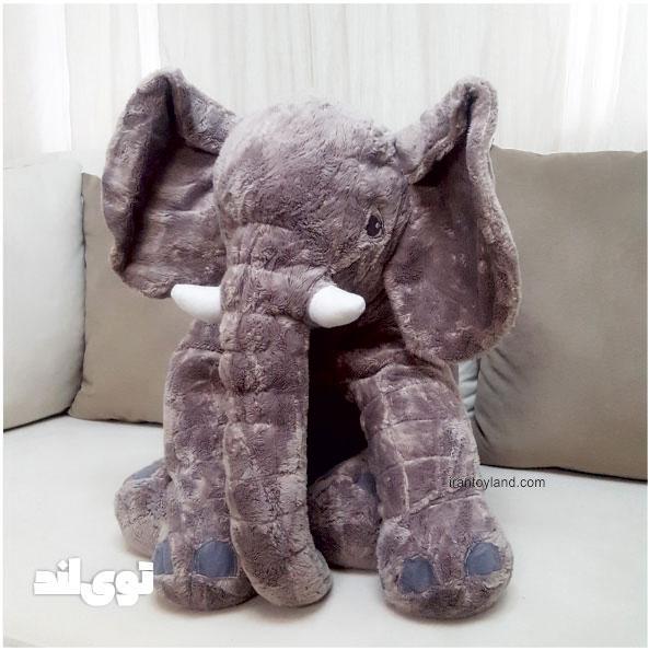 عروسک بالشتی فیل سایز 60