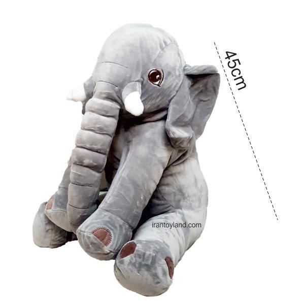 عروسک بالشتی فیل نانو سایز 45