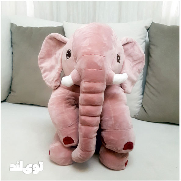عروسک بالشتی فیل نانو سایز ۴۵