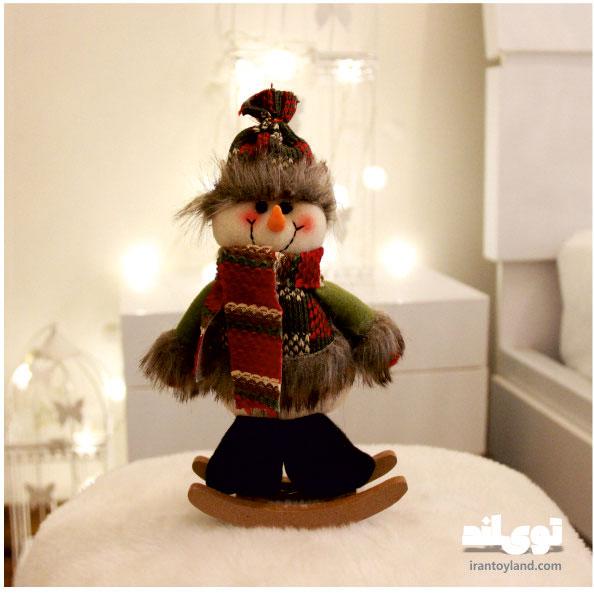 عروسک کریسمس آدم برفی راکردار