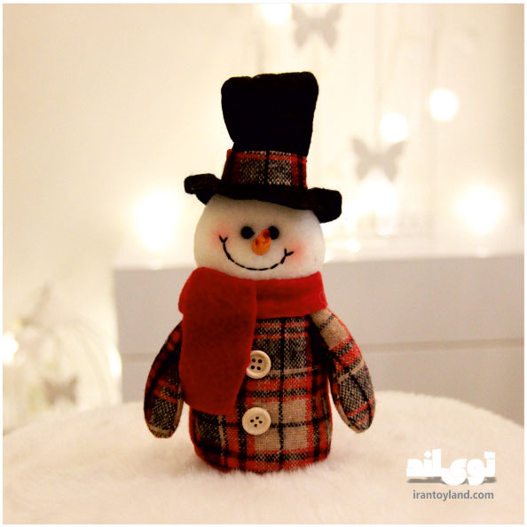 عروسک کریسمس آدم برفی