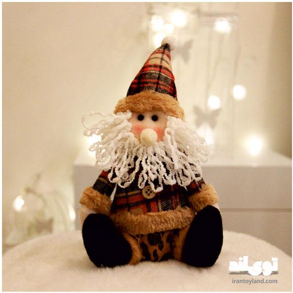 عروسک کریسمس بابا نوئل