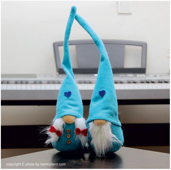 عروسک ولنتاین زوج لی لی پوت آبی