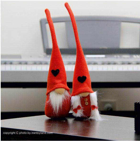 عروسک ولنتاین زوج لی لی پوت قرمز