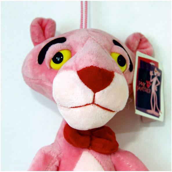 عروسک شخصیت کارتونی پلنگ صورتی