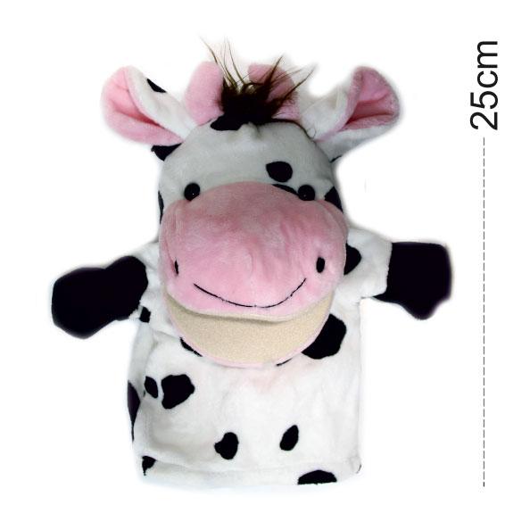 عروسک نمایشی حیوانات مدل گاو
