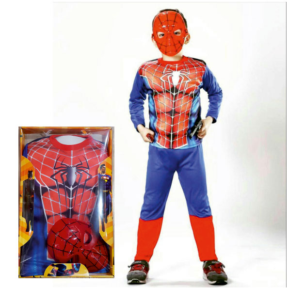 لباس شخصیت مرد عنکبوتی