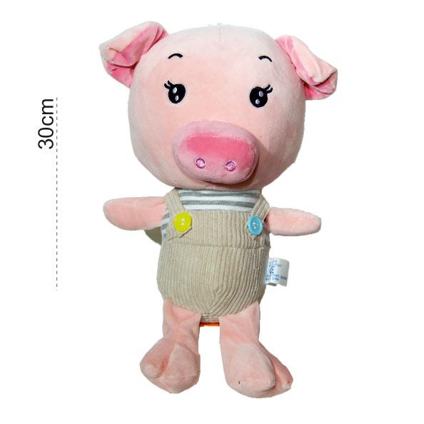 عروسک پولیشی خوک شلوار کبریتی