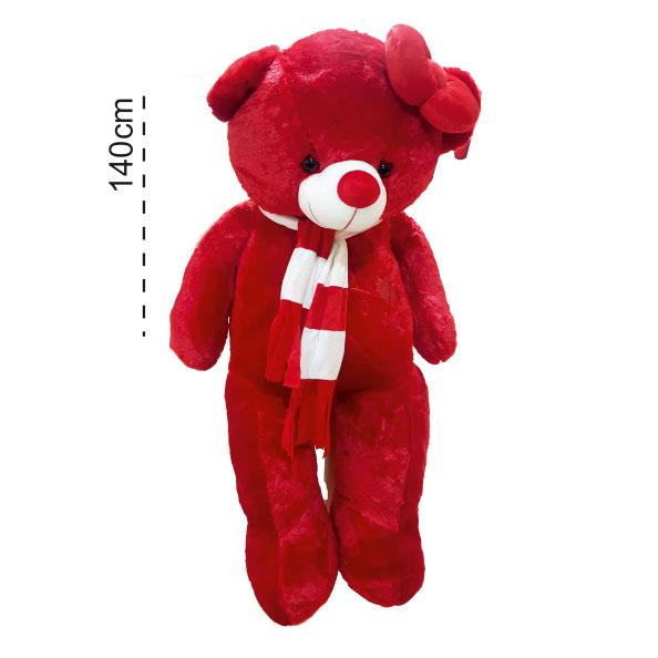 عروسک خرس بزرگ ولنتاین
