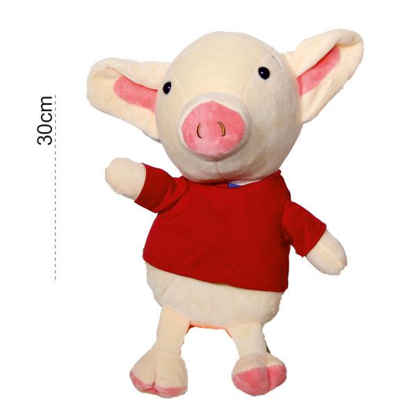 عروسک پولیشی خوک سوییشرتی