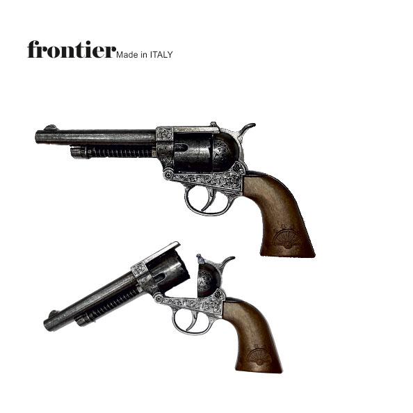 ماکت تفنگ فلزس رولور ایتالیایی 12 تیر ترقه ای