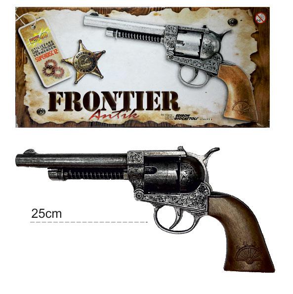 ماکت تفنگ فلزی رولور ایتالیایی 12 تیر ترقه ای