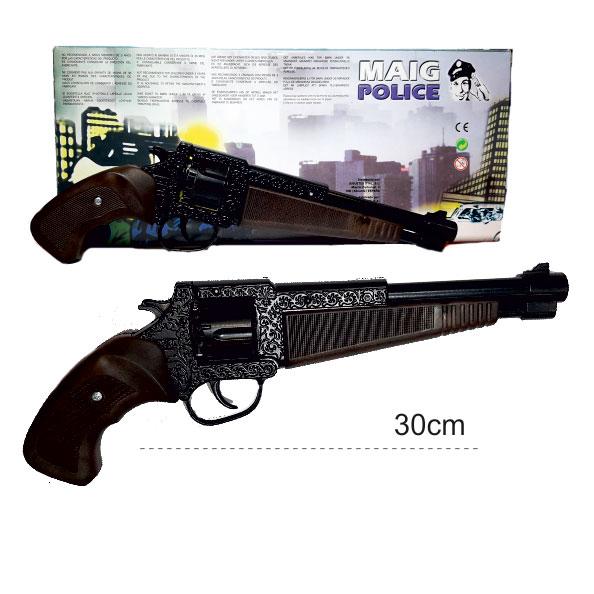ماکت تفنگ فلزی تپانچه ترقه ای 12 تیر