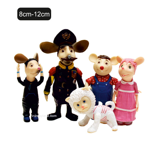 فیگور ششخصیت کارتونی مدرسه موشها