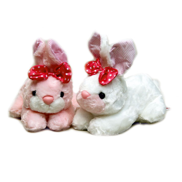 عروسک پولیشی خرگوش پاپیون دار نیچی