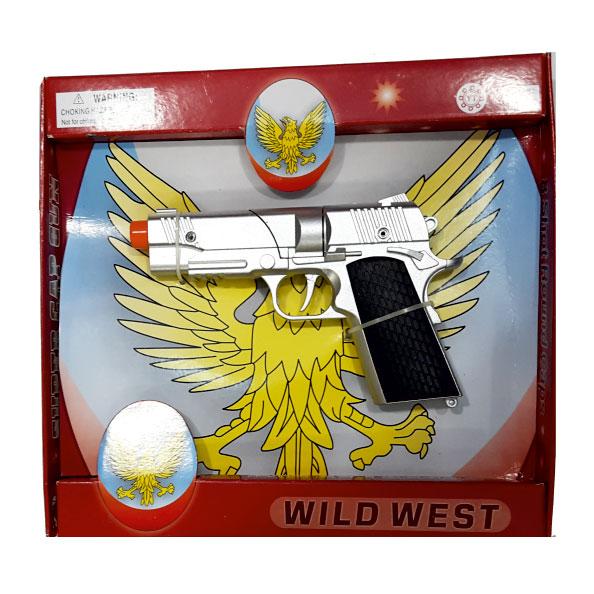 تفنگ فلزی کلت ترقه ای 8 تیر