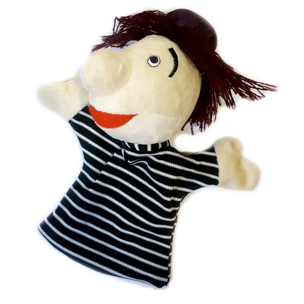 عروسک نمایشی شخصیت کارتونی پسرعمه زا