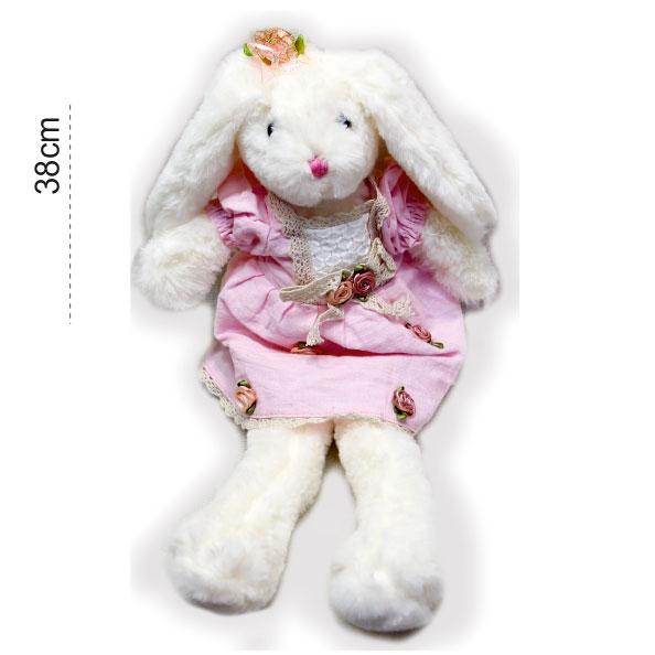 عروسک پولیشی خرگوش لباسدار