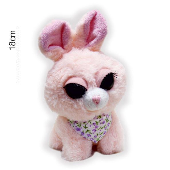 عروسک پولیشی فانتزی خرگوش مژه دار