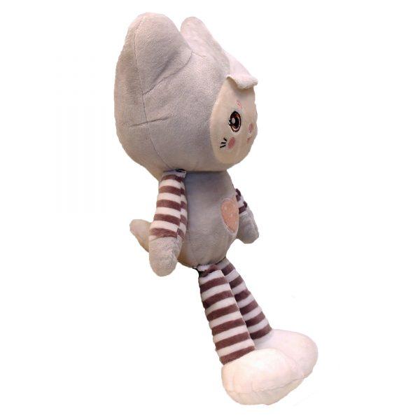 عروسک دختر لباس گربه ای