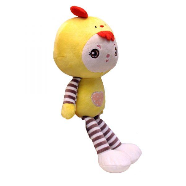 عروسک نانو دحتر لباس جوجه ای