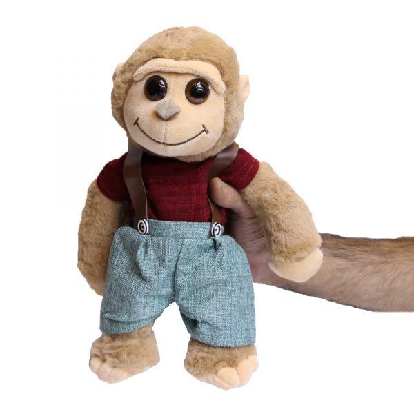 عروسک پولیشی میمون دو بندی