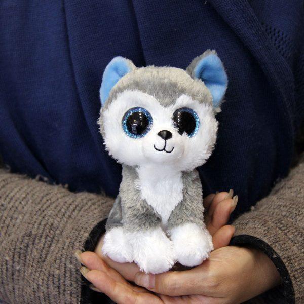 عروسک پولیشی سگ هاسکی